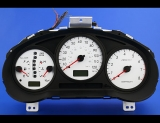 2004-2007 Subaru Impreza 120 MPH Auto White Face Gauges