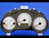2006-2008 Subaru Forester White Face Gauges