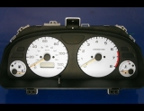 1998-2000 Subaru Forester White Face Gauges