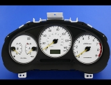 2002-2003 Subaru Impreza WRX White Face Gauges