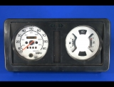 1988-1995 Suzuki Samurai Non-Tach Square Vent White Face Gauges