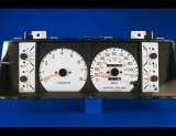 1984-1988 Toyota Pickup Truck Tach White Face Gauges
