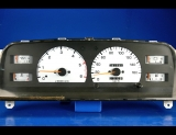 1989-1995 Toyota Hilux 160 METRIC KPH KMH White Face Gauges