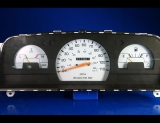 1992-1995 Toyota Pickup Truck Non-Tach Manual White Face Gauges