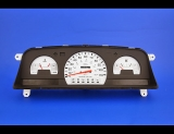 1992-1995 Toyota Pickup Truck Non-Tach Auto White Face Gauges