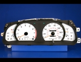 1992-1996 Toyota Camry 2.2L i4 White Face Gauge