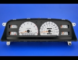 1992-1995 Toyota 4Runner Truck White Face Gauges