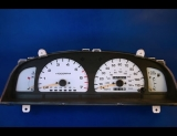 1998 Toyota 4Runner White Face Gauges