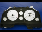 1986-1989 Toyota Celica GT White Face Gauges