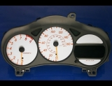 2003-2005 Toyota Celica GTS White Face Gauges