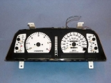 1993-1997 Toyota Landcruiser White Face Gauges