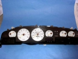 1986-1992 Toyota Supra NON TURBO White Face Gauges
