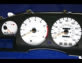 1986-1992 Toyota Supra Turbo 160 Mph White Gauges MKIII