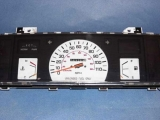 1984-1988 Toyota Truck White Face Gauges