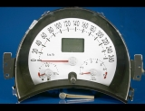 2004 Volkswagen Beetle METRIC KPH KMH White Face Gauges