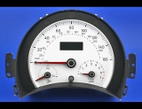 2006-2010 Volkswagen Beetle Gas White Face Gauges