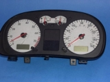 2000-2001 Volkswagen Passat 160 MPH White Face Gauges