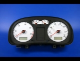 1999-2003 Volkswagen Jetta Golf 140 MPH TDI White Face Gauges