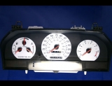 1994-1997 Volvo 850 Turbo White Face Gauges 94-97