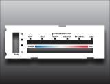 1973-1977 GMC Sprint White Heater Control Overlay HVAC