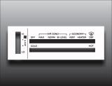 1984-1988 Oldsmobile Cutlass White Heater Control Overlay HVAC