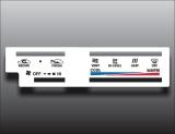 1984-1988 Toyota 4Runner Pickup Truck White Heater Control Overlay HVAC