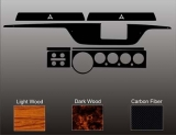 1970-1974 E Body NON RALLYE Instrument Cluster Dash Bezel Resurfacing Kit