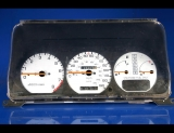 1988-1989 Acura Integra White Face Gauges