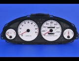 1994-2001 Acura Integra GS-R White Face Gauges