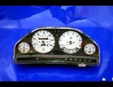 1984-1991 BMW E30 325 325e 325i White Face Gauges 84-91