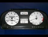 1982-1988 BMW E28 White Face Gauges 5 Series E24
