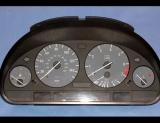 1996-2004 BMW E39 E38 E53 5-Series GREY Face Gauges