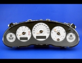 1997-2004 Buick Regal Fuel Data Display White Face Gauges
