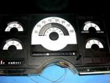 1988-1991 Chevrolet Truck C/K 1500 2500 3500 White Face Gauges