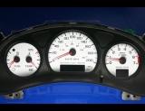 2000-2005 Chevrolet Impala METRIC KPH KMH White Face Gauges