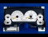 1994-1997 Chevrolet S10 S15 Tach White Face Gauges
