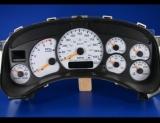 1999-2002 Chevrolet Silverado Duramax Diesel White Face Gauges