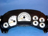 2006-2007 Chevrolet Silverado DURAMAX DIESEL White Face Gauges