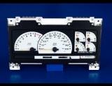 1993-1995 Dodge Caravan Tach White Face Gauges