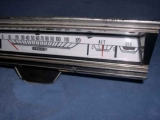 1967-1971 Dodge Dart Swinger GT GTS Coupe Sweep White Face Gauges
