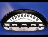 1956 Ford F150 F250 F350 Pickup Truck White Face Gauges
