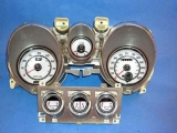 1971-1973 Ford Mustang White Face Gauges