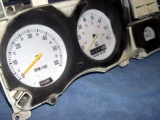 1974-1978 Ford Mustang II White Face Gauges
