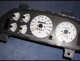 1988-1992 Ford Probe White Face Gauges 88-92 Turbo