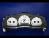 1998-2003 Mazda B3000 B4000 Truck Non Tach White Face Gauges