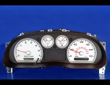 2004-2009 Mazda B3000 B4000 Truck White Face Gauges