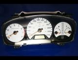 1998-2002 Honda Accord Sedan METRIC KMH KPH White Face Gauges