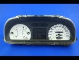 1990-1991 Honda Civic NON TACH White Face Gauges