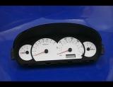 2001-2003 Hyundai Elantra GT White Face Gauges 01-03