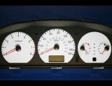 2003-2005 Hyundai XG350 White Face Gauges